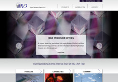 ARO redesigned home page